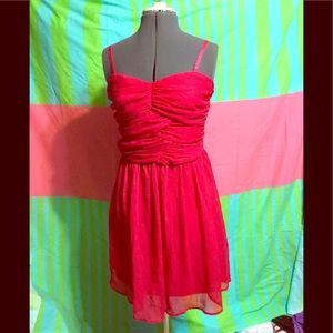 Love Fire XL girls pink party dress